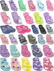 FLIP FLOPS GIRLS BOYS KIDS JELLY SANDALS BEACH SPORT SIZE 9 10 11 12 13 1 2 3