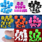 Pair Gauge Silicone Flared Tunnels Ear Plugs Expander Stretcher Earlets Piercing