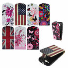 Luxury Stylish Flower Flip Leather Skin Case Cover Pouch For Samsung iPhone LG