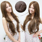 New Parted Bangs Cosplay Party Wig Fashion Sexy Women Full Long Curly Wavy Wigs