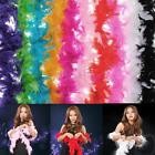 FEATHER BOAS STRONG HEN STAG NIGHT CARNIVAL WEDDIN PARTY FANNY DRESS DECORATION