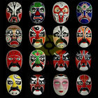 Paper Pulp Hand Painted Dress Party Beijing Peking Opera Mask SNA006 (48 colors)