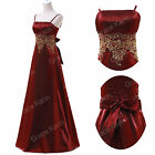 Multi Colors Ball Gown Formal Bridesmaid Evening Wedding Dress 8 Size UK 6-20 SR
