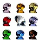 1Pc Cut Crystal Glass Diamond Paperweight Wedding Party Vence Decorations 40mm