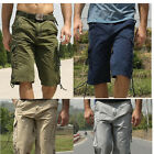 Men's Combat Outdoor Military Army Cargo Pocket Shorts Pants Camouflage Trousers