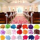 1000 Artificial Wedding Silk Rose Petal Bridal Flowergirl Basket Decoration