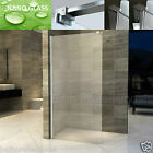 Walk In Shower Enclosure Wet Room Panel Self Clean Glass 8MM Screen Cubicle