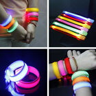 New Charming LED Safety Light Flashing Armband Belt Wrist Night Sports Parties