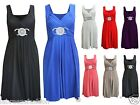 Womens Ladies Christmas Evening Maxi Party Dress Wedding Ball Prom Bridesmaid