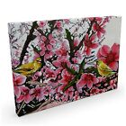 CANVAS ART JAPANESE SAKURA FLOWERS VINTAGE WALL ART PRINT PICTURE A3 A2 A1 A0