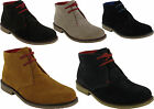 BRAND NEW MEN'S 100% SUEDE LEATHER CASUAL WEAR LACE UP HIGH QUALITY DESERT BOOTS