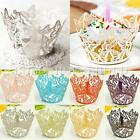 12X Butterfly Cupcake Wrappers Cup Cake Wraps Cases Wedding Birthday Baby Shower