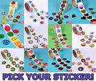 1 ROLL 100 Stickers,Envelope Seals,Embellishments,Kid,Birthday Party Favor Prize