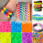 200pcs Glow in the Dark Refill Rubber Loom Bands With 15Pcs S Clips DIY Bracelet
