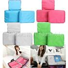 3Pcs Clothes Underwear Socks Packing Cube Storage Bag Travel Luggage Organizer