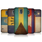 HEAD CASE DESIGNS VINTAGE FLAGS SET 3 CASE COVER FOR SAMSUNG GALAXY S5