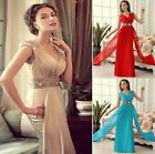 Tasteful Wedding Bridesmaid Formal Gown Party Cocktail Evening Prom Long Dresses