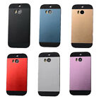 Aluminum Metal Ultra Thin Chrome For HTC ONE M8 Hard Colorful Skin Case Cover