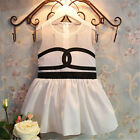 Top One-pieces Baby Girls Kid Dress Costume Party Toddler Summer Beach Skirt #lh