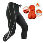 Cycling tights,ladies 3/4 Padded (coolmax)lightweight, Black shorts. JAGGAD