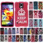 For Samsung Galaxy S5 i9600 G900 Ladybug Crystal Bling Hard Case Cover Accessory