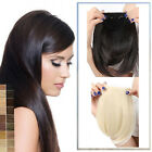 World Pride Beauty Straight fringe bangs Clip in Hair Extensions clip-on hotsale