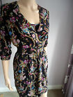 BNWT Stunning Elasticated Waist Floral Dress Warehouse  SZ 6 8 10  Sale !