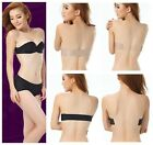 Sale! Lady Push Up Strapless Backless Invisible Self Adhesive Bra Cup A B C D -H