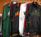 Mexico Track Jacket Black Red Mexico Long sleeve track jacket XS-3X Mexico 1