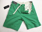 Polo Ralph Lauren Men Green relaxed fit rugged cotton shorts size 30 or 34