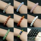 Handmade 6mm Mixed Natural Gemstone Round Beads Stretchy Bracelet Healing Reiki image