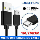 Micro USB Data Charger Cable For Samsung Galaxy S7 EDGE S6 S5 S4 S3 HTC ONE LG