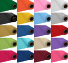 """40"""" x 100ft Plastic Tablecover TableCloth Banquet Roll Birthday Wedding Party PA"""