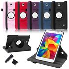 For Samsung Galaxy Tab 4 7.0 7 Tablet PU Leather Stand Rotating Case Covers T230