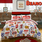 The Beano Crash Boom Children's Duvet Cover & Pillowcases.10% OFF RRP & FREE P+P