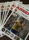 ARSENAL Home Football Programme 2013/14 - Choose from list