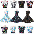 Charming Rockabilly Polka Dot Womens & Girls Swing Dress 50s Retro Pin Up Party