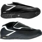 SALE! Shimano Mens AM41 AM XC DH Flat Pedal Mountain Bike Shoes Black White