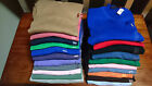 RALPH LAUREN CREW V-NECK MEN SWEATER JUMPER BLACK BLUE GREY PURPLE S M L XL XXL