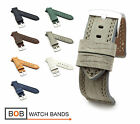 BOB Tanned Vintage Calf Watch Band for Panerai, 22, 24, 26 mm, 7 colors, new!