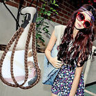 New Casual Lady Double-deck Hairpiece Headband Hair Belt Plait Hair Extensions