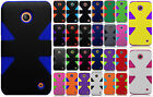 Cricket Nokia Lumia 630 IMPACT TUFF HYBRID Protector Case Cover + Screen Guard