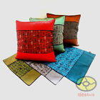 Home Decor Chinese Calligraphy Seal Style Satin Cushion Cover/Pillow case YBS133