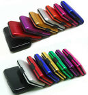 Deluxe Colors Aluminizing  Case Wallet Protect RFID Scanning Credit Card Holder