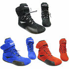 Koden M54 Kart Motorsport Racing Shoes Black Blue Red Full Length Boots Lace Up