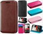 T-Mobile Alcatel ONETOUCH Evolve Premium Wallet Flap STAND Cover + Screen Guard