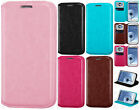Samsung Galaxy S3 S III Premium Wallet Case Pouch Flap STAND Cover +Screen Guard