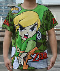 The Legend of Zelda LINK Print Cosplay T SHIRT 100% Cotton High quality