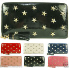 Ladies Womens LYDC Designer Star Studded Stud Zip Purse Hand Clutch Bag Wallet