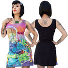 Kreepsville 666 Congress Crushed Mars Attacks Dress Goth Punk Horror